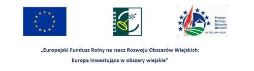Logo Europejskiego Funduszu Rolnego na Rzecz Rozwoju Obszarów Wiejskich